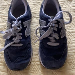New balance Blue sneakers used in jcrew stores